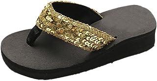 MOMIYA Unisexe Chaussons Sandales pour Femmes Et Hommes Usage Extérieur Bain Sandal Soft Foam Pantoufles d'été antidérapan...