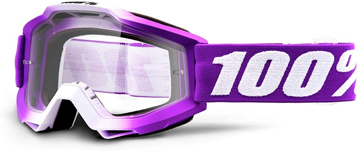 Unknown Childrens Accuri Youth Clear Lens Motocross//cycling Goggles