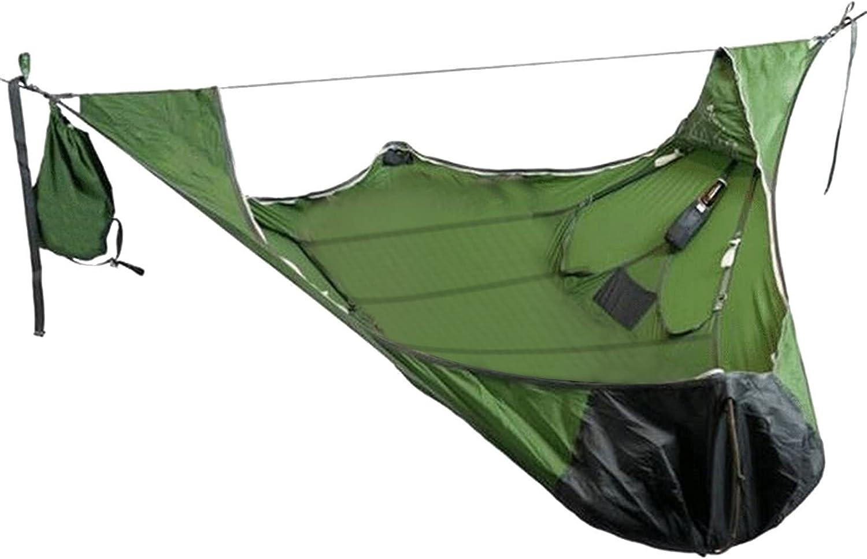 ninRYA Flat Sleep Max 62% OFF Hammock Tent with Kit Bug Net and Suspension Washington Mall