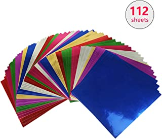 """1 Pack of 100 Sheets Japanese 3.5/"""" Origami Gold Foil Folding Paper Made in Japan"""