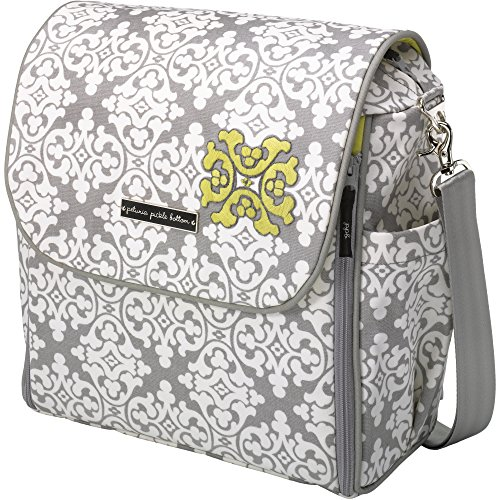 Petunia Pickle Bottom - Embossed Boxy Diaper Bag Backpack for the...