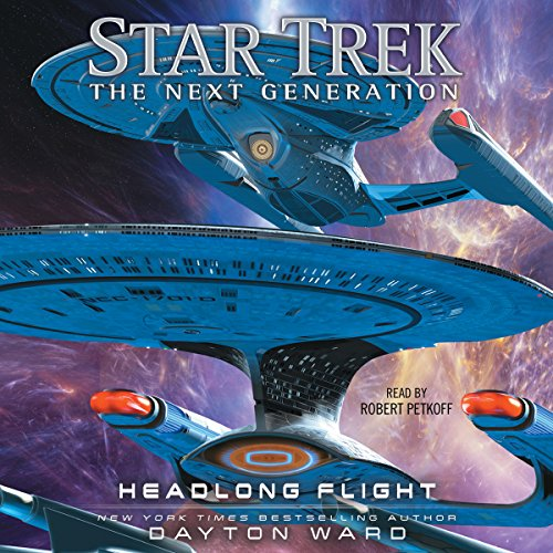 Headlong Flight     Star Trek: The Next Generation              By:                                                                                                                                 Dayton Ward                               Narrated by:                                                                                                                                 Robert Petkoff                      Length: 9 hrs and 33 mins     554 ratings     Overall 4.4