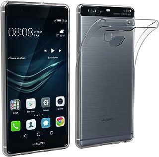 Simpeak Funda Compatible con Huawei P9 Plus (Pack of 2), Funda Transparente Compatible con Huawei P9 Plus Carcasa Compatible con Huawei P9 Plus Silicona TPU Case