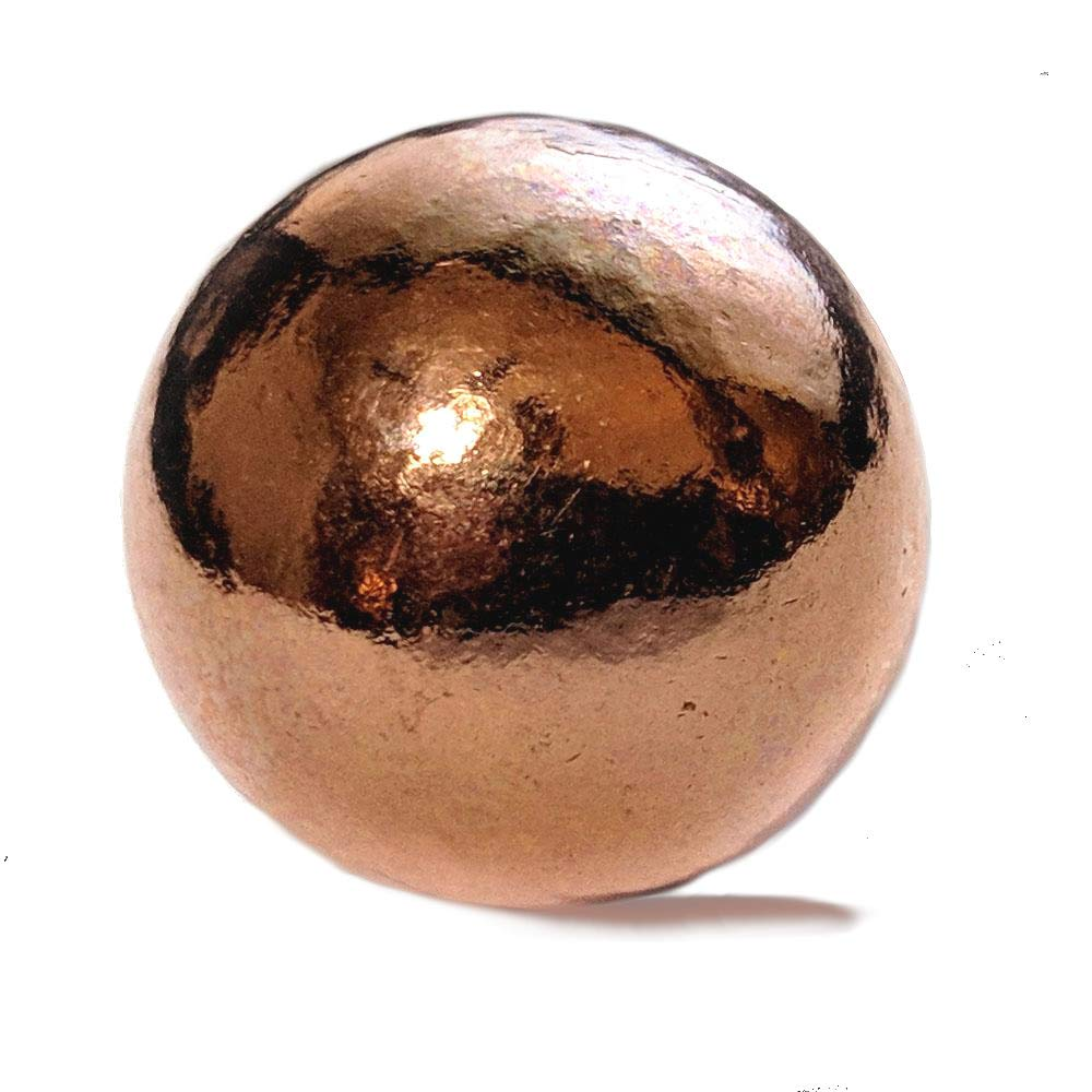 Pure Copper Sphere 1-1/8