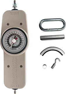 Baseline Analog Hydraulic Push Pull Dynamometer, 250 lbs Capacity
