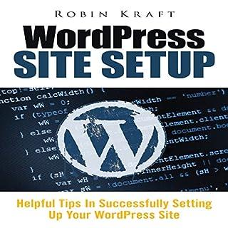 WordPress Site Setup audiobook cover art