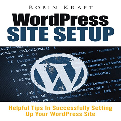 WordPress Site Setup audiobook cover art
