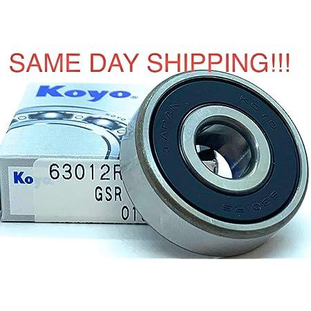 KOYO 6306 RS Medium Deep Groove Ball Bearings  30x72x19mm