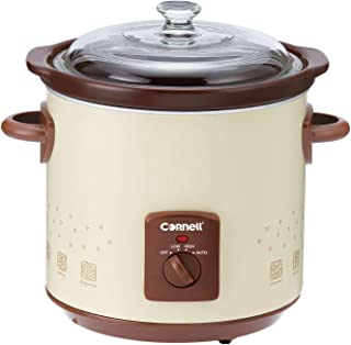 Cornell CSC500 Slow Cooker, 5 Litres Off-White