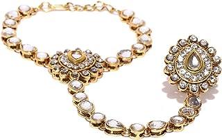Prita Bangle for Women (Golden) (DC-HPHL-10001)