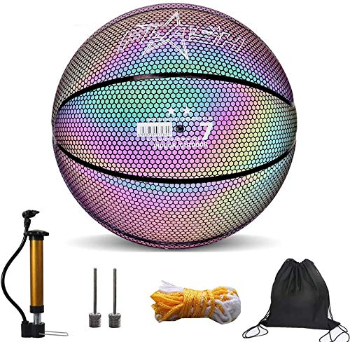 Light Up Basketball, Glowing Reflective Basketball,Light Up in the...