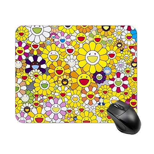 Office Mouse Pad Takashi Murakami Gaming Mouse Pad Large Mousepad 10.2'x8.3'(25cmx20cm)