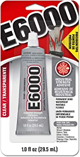 E6000 231020 Adhesive with Precision Tips, 1.0 fl oz
