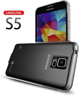 Case Army Galaxy S5 | V | I9600 Clear Case [Manifest] Scratch-Resistant Slim Clear Case for Samsung Galaxy S5 | V | I9600 Soft Flexible Silicone Crystal Clear Cover with TPU Bumper