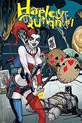 DC Comics Poster Harley Quinn Number 1+ accessoires