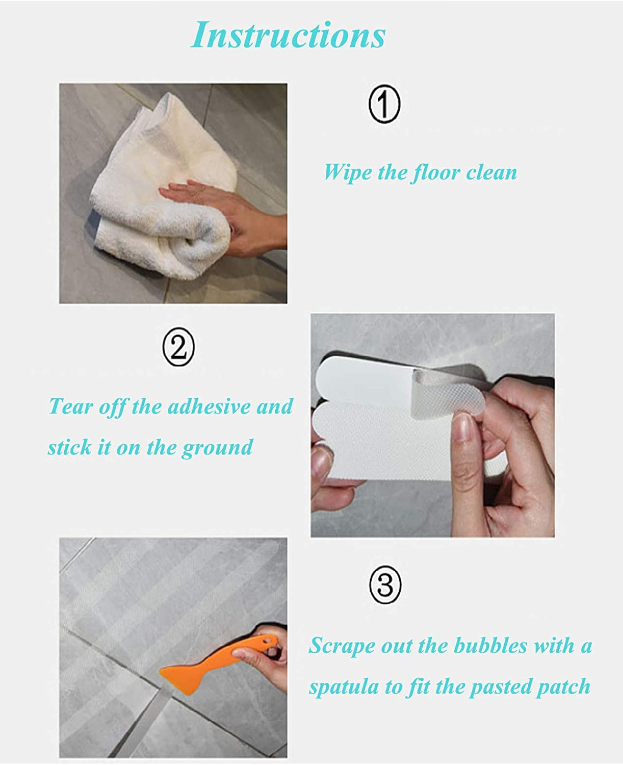 Shower Water Stopper for Wet and Dry Separation White 39 inches Double hole Silicone Shower Barrier Keeps Water Inside Threshold Collapsible Shower Threshold Water Dam Shower Barrier Bathroom