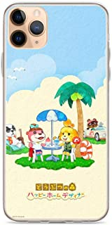 TEEMT Compatible with iPhone 11 Case Animal Crossing Life Simulation Game Pure Clear Phone Cases Cover