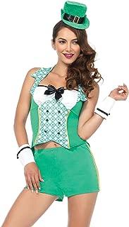 Leg Avenue Women's Green Leprechaun St. Patrick's Day Costume
