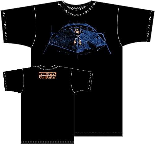 The T-shirt Black L Größe reprint  Gunbuster Aim for the top (japan import)