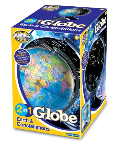 Brainstorm 2-in-1 Earth and Constellation Globe