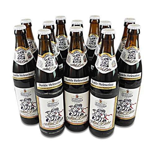 Kuchlbauer Alte Liebe (dunkles Weißbier / 12 Flaschen à 0,5 l / 5,2% vol.)