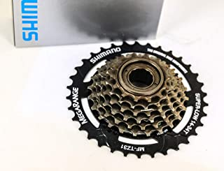 SHIMANO 7-Speed Tourney Bicycle Freewheel Replacement Cluster - MF-TZ2