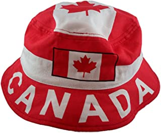 CANADA Country Flag BUCKET HAT. Size: ADULTS 7 3/8