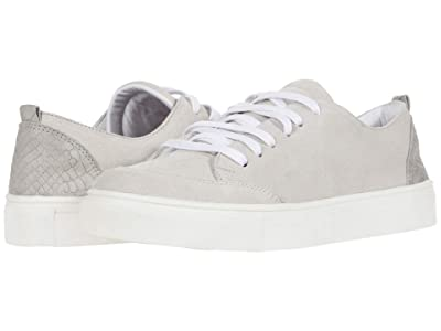 KAANAS Paris Lace-Up Sneaker w/ Contrast Heel (Ice) Women