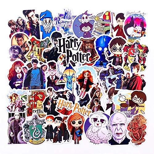 Classic Movie Potters Stickers Aesthetic Funny Anime Harry Phone Laptop Scrapbook Scooter Toys For Children Naklejki 100Pcs