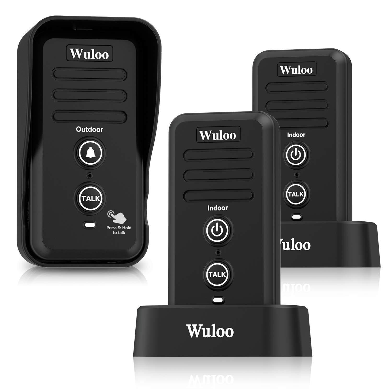 Wuloo Intercomunicador Waterproof Electronic Rechargeable