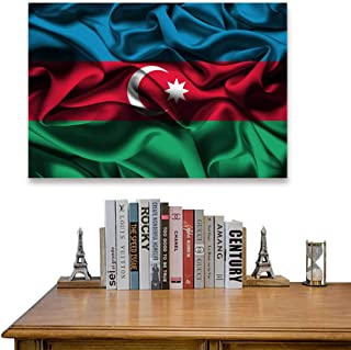 Yloveme Wall Decor Paintings Flag of AZERBAIHAN (8) Home Decor for Living Room Office Bedroom Pictures