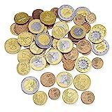 Learning Resources- Set monedas euro, Color surtido (XLR-LSP0026EUR)