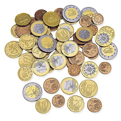 Learning Resources Monete in Euro (Set da 100), LSP0026-EUR