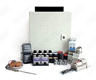 Powder Coating Oven Controller Kit, 240V 50A 12000W (KIT-PCO301)