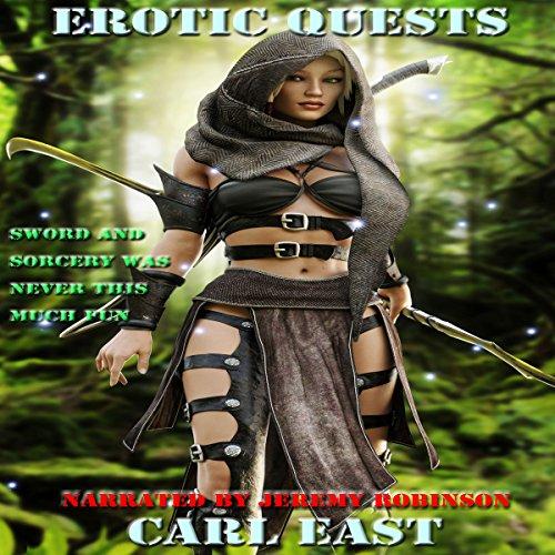 Erotic Quests audiobook cover art