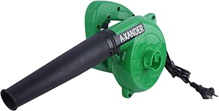 A-Xander Unbreakable Plastic 600 W 15000RPM 90 Miles/Hour Electric Air Blower Dust PC Cleaner (Green)