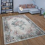 alfombra vintage desgastada