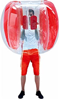 HW Bumper Ball 4'Zorb Balls Inflatable Bubble Soccer Ball for Adults and Kids (Only 1 Red)