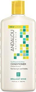 Andalou Naturals Sunflower & Citrus Brilliant Shine Conditioner, 11.5 Ounce