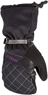 Klim Allure Mitten Women's Ski Snowmobile Gloves - Black/Purple / Small