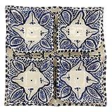 Arredamento Etnico Antipastiera Piatto Ceramica Terracotta Marocchina 1705211000