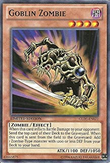 Yu-Gi-Oh! - Goblin Zombie (GLD5-EN021) - Gold Series: Haunted Mine - Limited Edition - Common
