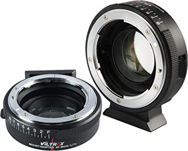 Viltrox NF-M43X Focal lens adapter Reducer Speed Booster Adapter Turbo...