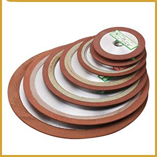 Diamond Grinding Wheel Cutting Disc Resin Bond Grinder For Tungsten Steel Milling Cutter Sharpener 75/80/100/125Mm 150Grit 1Pc 100x16x8x5mm 150Grit