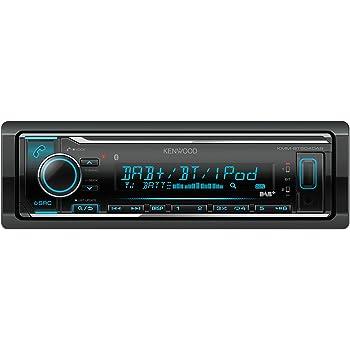 caraudio24 Kenwood KMM-BT505DAB DAB USB Bluetooth MP3 Autoradio f/ür Peugeot 306