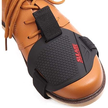 1pc Motorrad Schuhe Protektoren Shifter Schuhe Stiefel Abdeckung Motorrad Boot Schutz Schutzschuhe Schalthebel Motorrad Zubehör Sport Freizeit