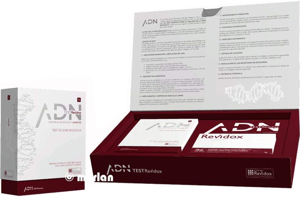 Revidox - Tratamiento Revidox 28 Días + Test Edad Biológica Revidox