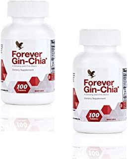 Forever Living Gin-Chia, Pack of 2 (200 Tablets)