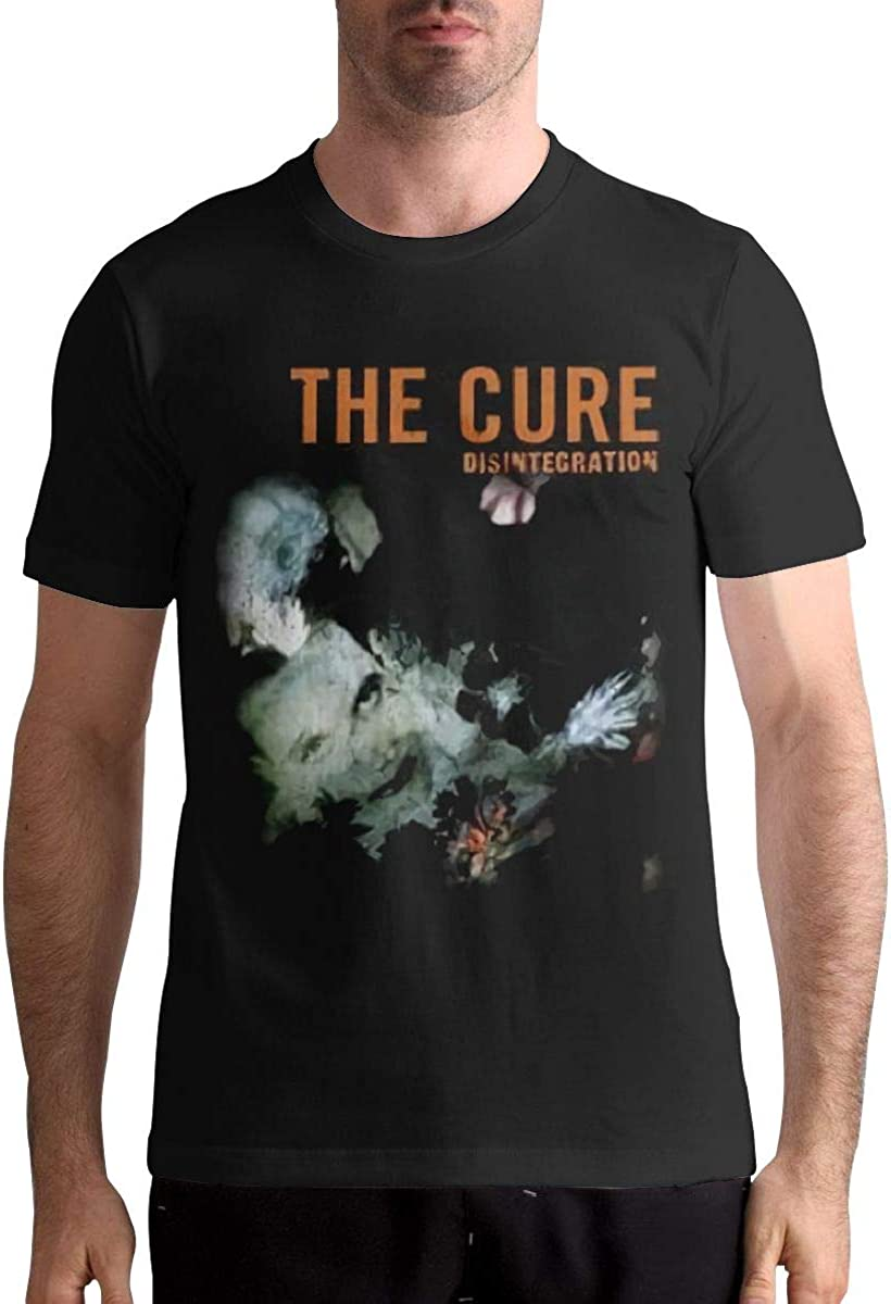 Dkcdrs The Cure T-Shirt Disintegration Mens Black