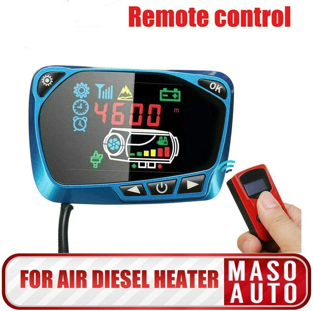 MASO 12V Outstanding 24V Air Parking Heater Japan Maker New Remote Switchï + Controller LCD